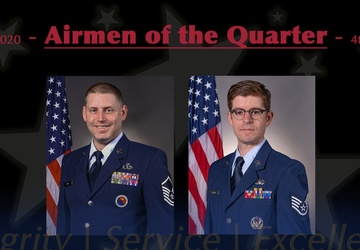 Two Airmen closed 2020 as TEC fourth-quarter awardees