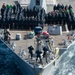 Sterett Sailors Stand in Formation for Group Photo