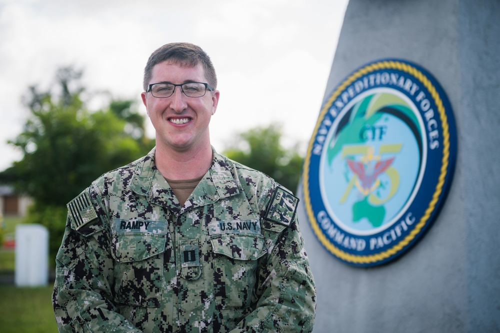 SMO at CTF 75 Awarded Navy Medicine's Clinical Social Work Officer of the Year