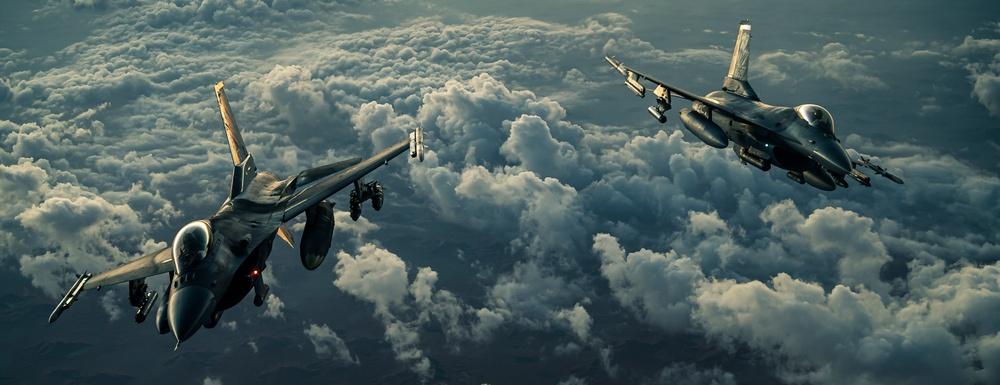 F-16s support Operation Octave Quartz