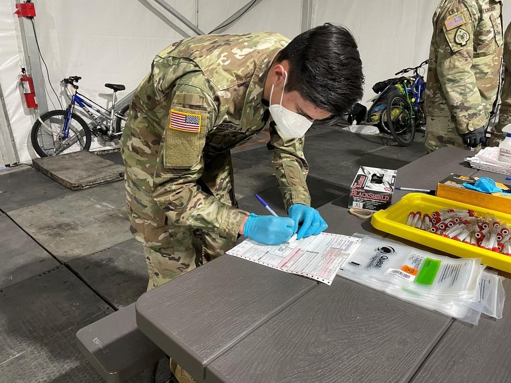 Nevada Guard helps track COVID-19 spread among Reno homeless