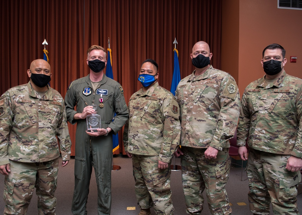 232nd Operations Squadron Change of Command Ceremony