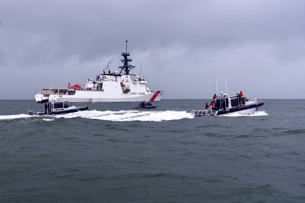 U.S. Coast Guard bolsters relations with Guyana coast guard