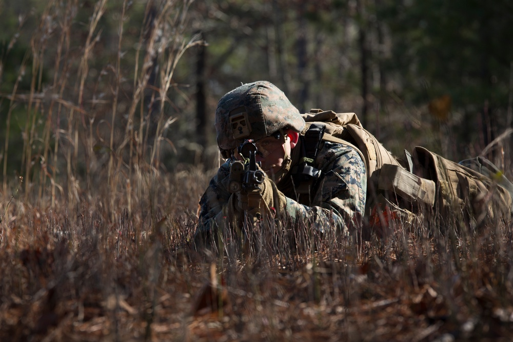 Marine Corps Security Forces Regiment, Charlie FAST Company, 5th Platoon, Conducts Mission Readiness Exercise