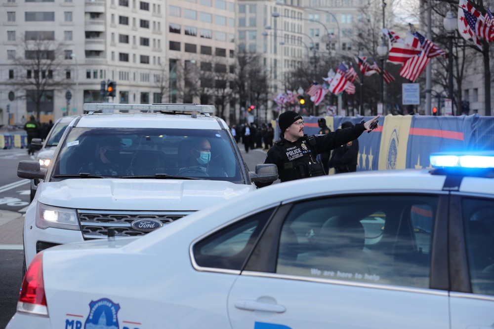 CBP supports the 59th Presidential Inauguration