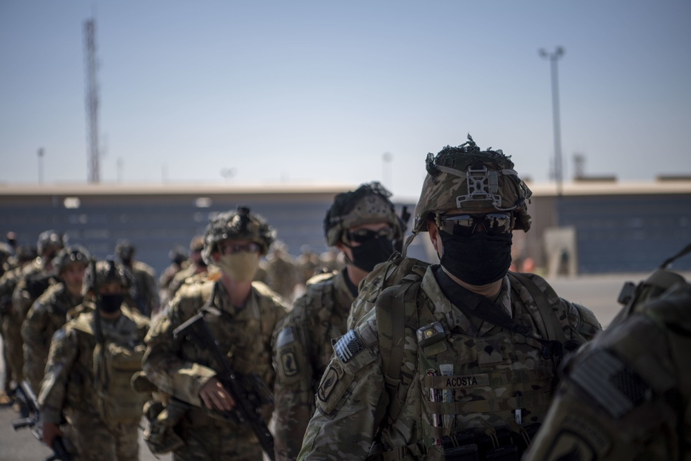 East African Response Force conducts operations in Somalia