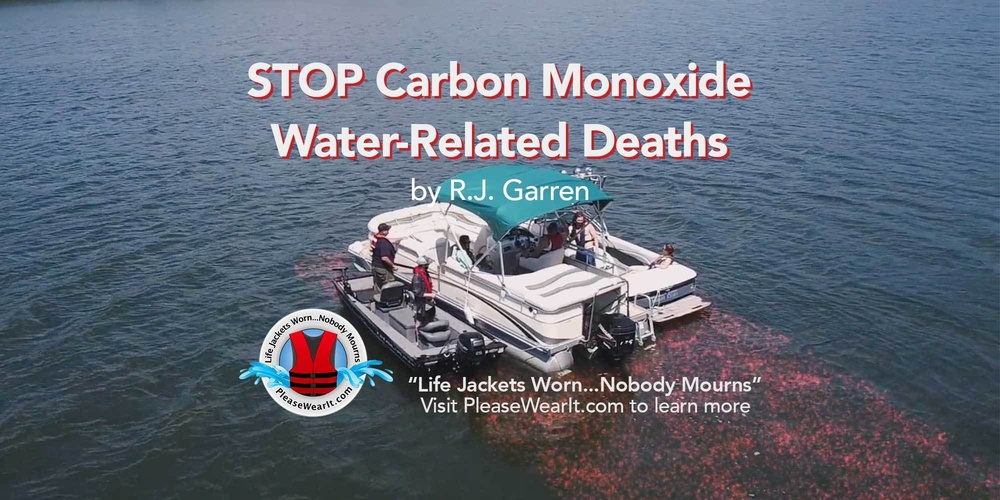 STOP Carbon Monoxide Water-Related Deaths Blog Header Picture