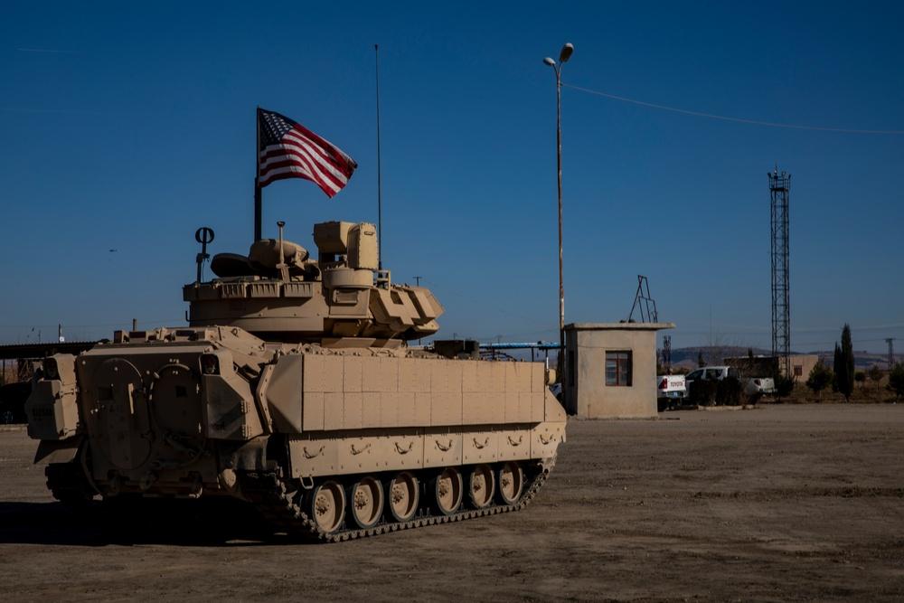 M2 Bradley Patrols in NE Syria
