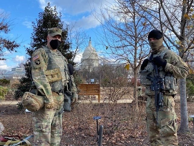 1-148 Provides Security in Washington, D.C.