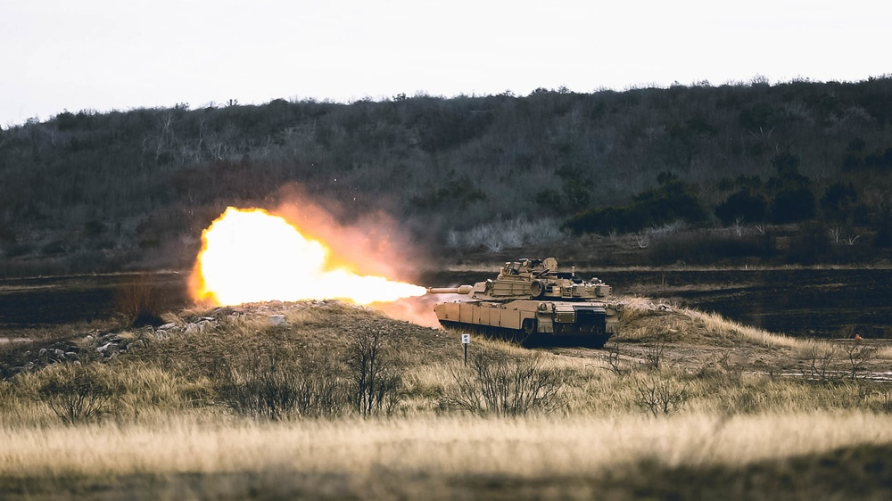 1-12 CAV M1A2 SEPV3 Gunnery Qualification