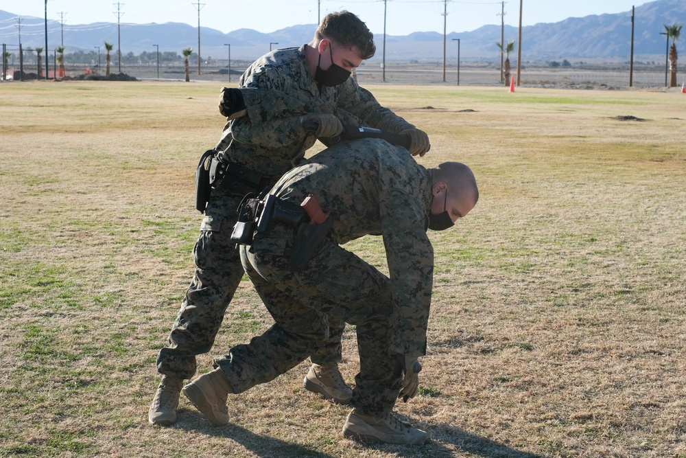 Earning the Badge: PMO trains new Marines