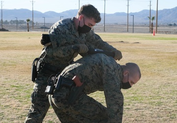 Sustaining the force: MCAGCC PMO trains Marines in security guard course