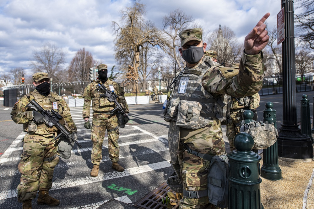 Ohio National Guard chaplain supports troops during 59th Presidential Inauguration