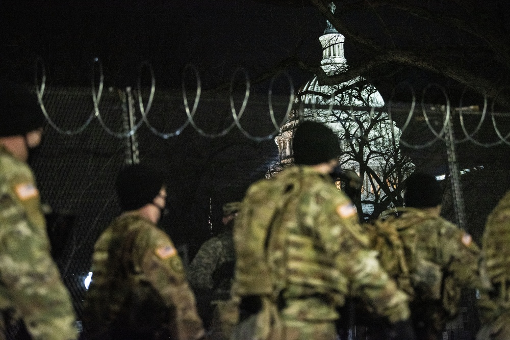 National Guard troops support 59th Presidential Inauguration