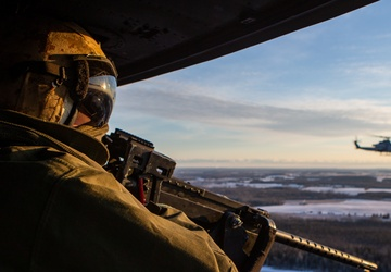 Marines train with Air National Guard in frigid Michigan weather: Close Air Support Mission