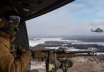 Marines train with Air National Guard in frigid Michigan weather: Close Air Support with A-10s