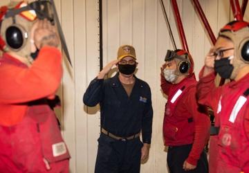 CSG 11 Visits USS Princeton