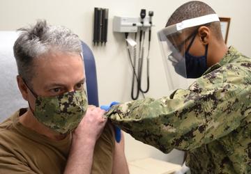 Great Lakes Leadership Takes Coronavirus Vaccine