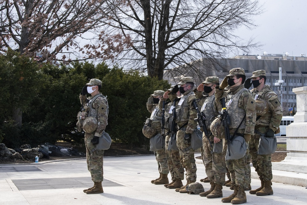 Ohio National Guardsmen support 59th Presidential Inauguration