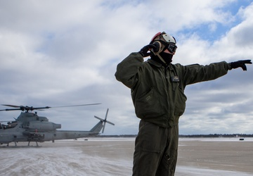 Marines train with Air National Guard in frigid Michigan weather: Preparations for Close Air Support Mission