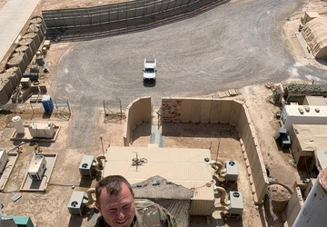 Army Reserve electrical technician makes it safer for Operation Inherent Resolve Soldiers