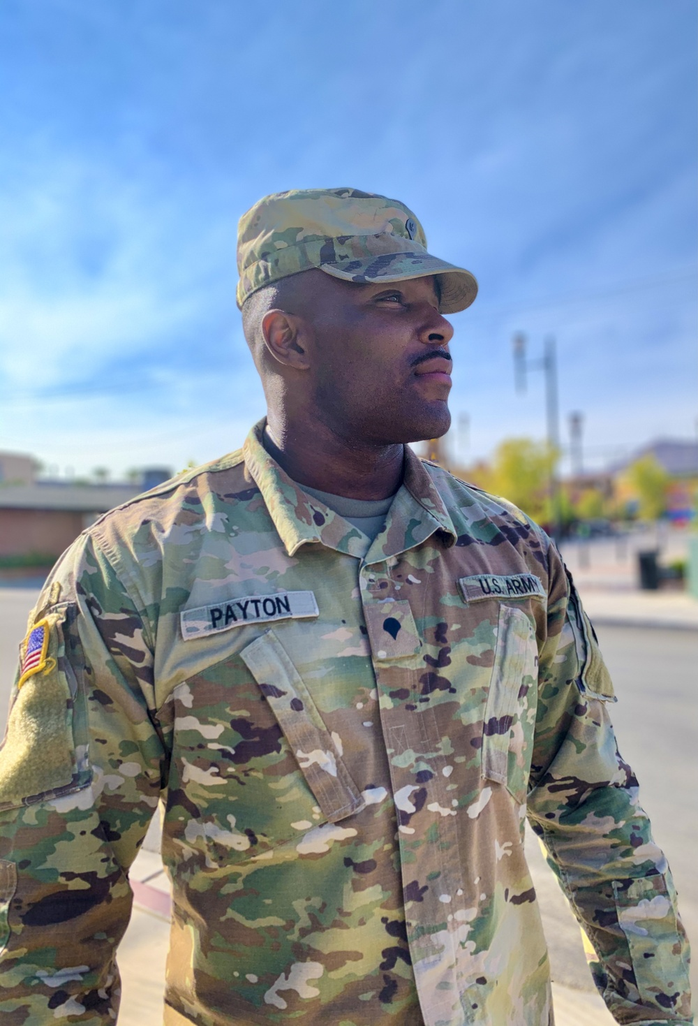 Nevada Guard Soldier breaks free from the grip of Chicago's mean streets