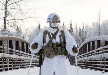 '1 Geronimo' paratroopers are evaluated for the upcoming USARAK Arctic Winter Games 2021