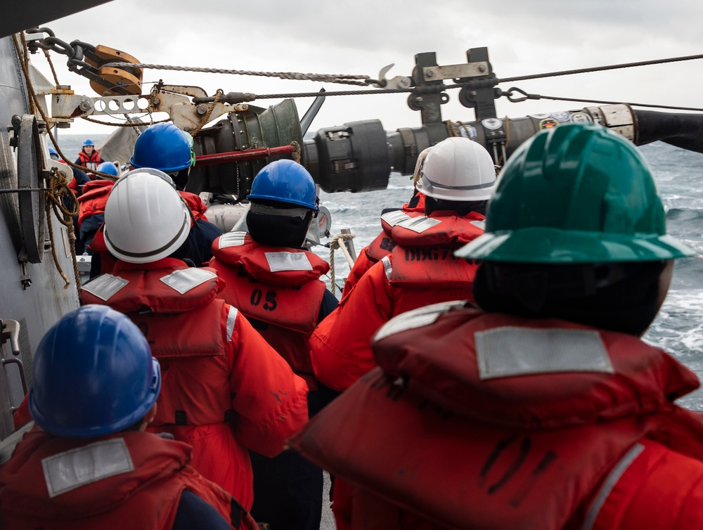 USS Porter Participates in War at Sea Exercise with Ukrainian Navy and USNS Laramie