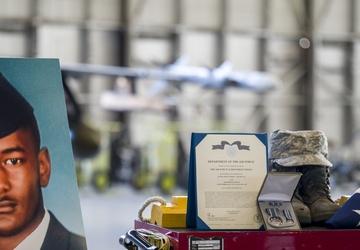 Edwards AFB bids farewell to fallen Airman