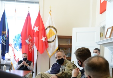 Deputy Commanding General visits the Soo Locks