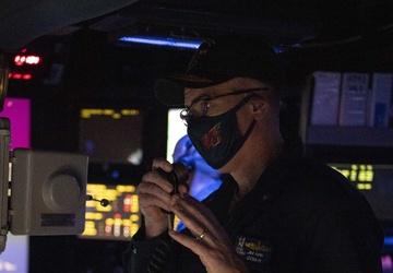 CSG 11 Visits USS Sterett