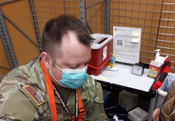 Michigan National Guard expands COVID-19 efforts statewide, vaccination teams deploy immediately