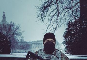 Michigan National Guard Provides Security at U.S. Capitol