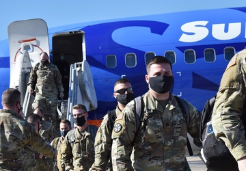 Tennessee Guardsmen return home from deployment