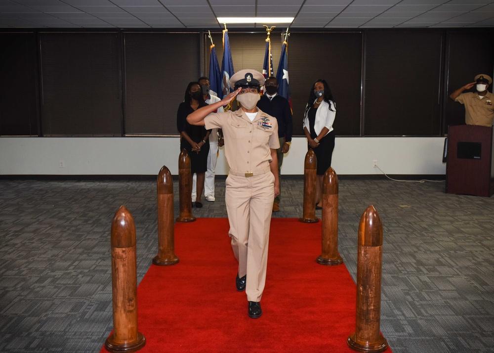 Houston Sailor Dons Anchors