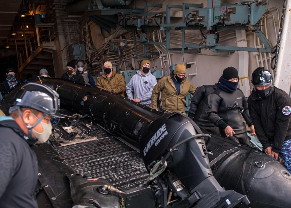 U.S. and Japan Conduct Bilateral Mine Warfare Exercise.