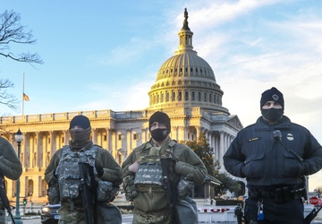 National Guard Responds in Capitol