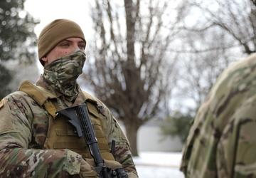 New York Adjutant General visits Guardsmen in Nation's Capital
