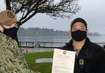 TRFB Promotes Two SurgeMain Sailors