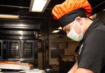 Princeton Sailors Prepare Meals