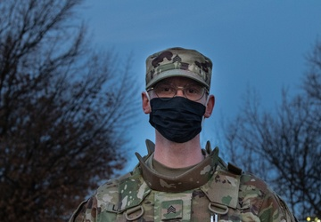 Chemical Response Soldiers Assist Military Police Mission in Washington