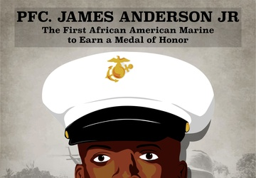 The First African American Marine to Earn the Medal of Honor - Pfc. James Anderson Jr.
