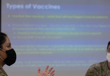 COVID-19 vaccine information briefing