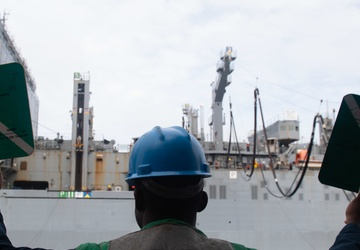 USS Princeton Conducts RAS