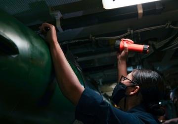 USS Ohio Operations Underway