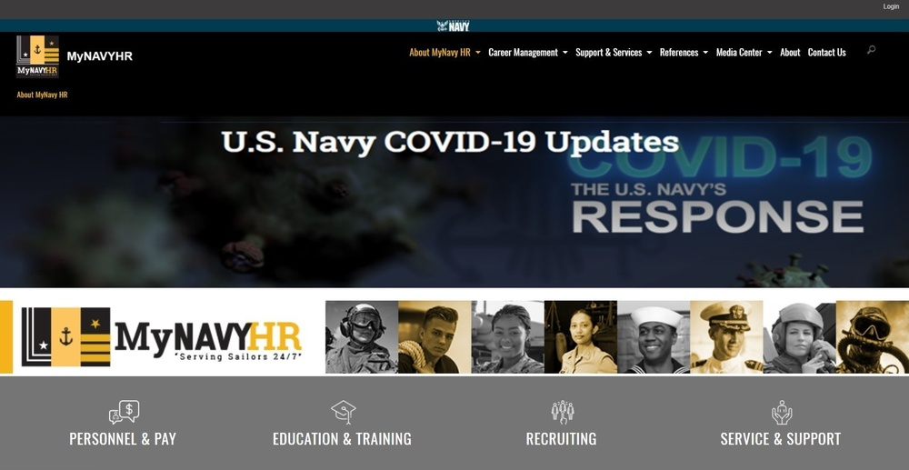 NPC Launching New Website; MyNavyHR.Navy.mil