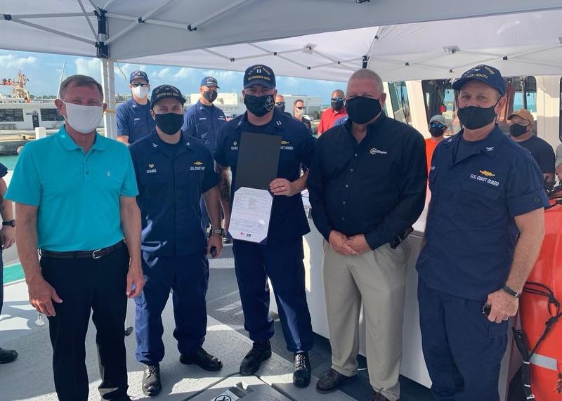 Coast Guard accepts Guam's third fast response cutter