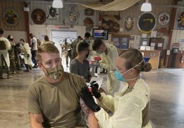 Camp Lemonnier Gets the COVID-19 Vaccine