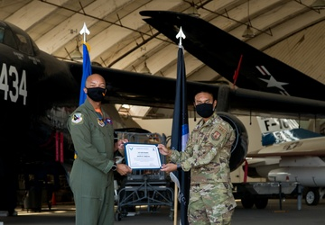 Edwards AFB conducts Space Force Transfer Ceremony