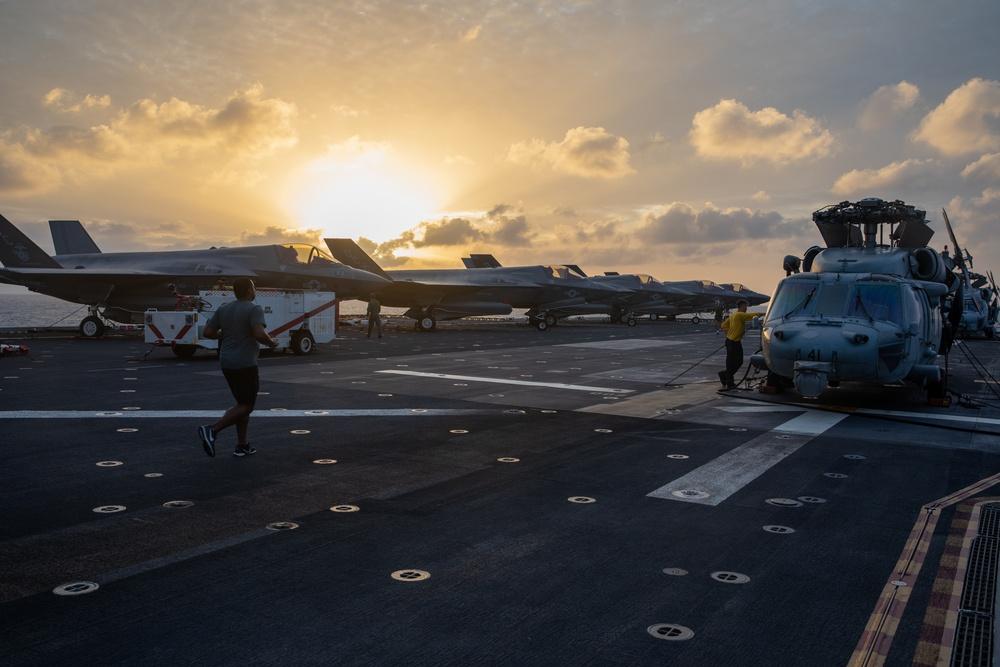 USS Makin Island Underway
